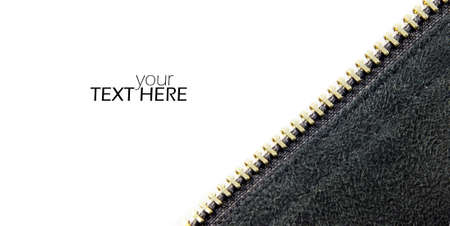 Abstract zipper with the copy space