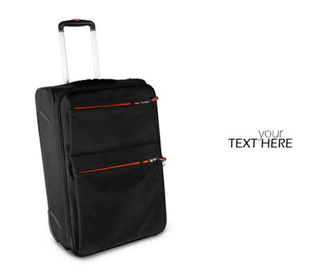 Luggage suitcase with the copy space 스톡 콘텐츠