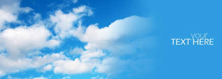 Sky with the copy space Stock Photo
