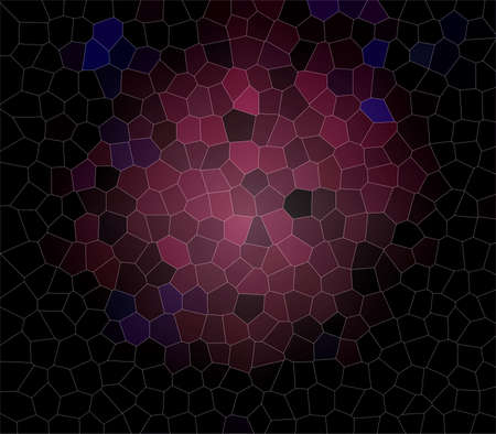 Colorful stained glass mosaic texture as a background 版權商用圖片