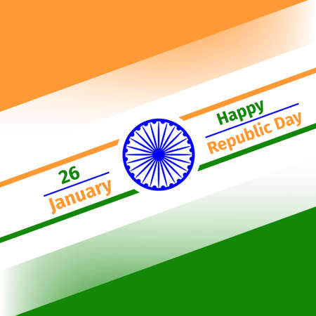 Illustration for 26 January Republic Day of India.