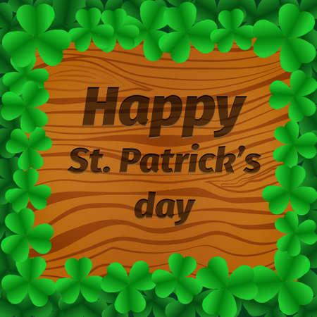 St. Patrick s Day party poster vector background