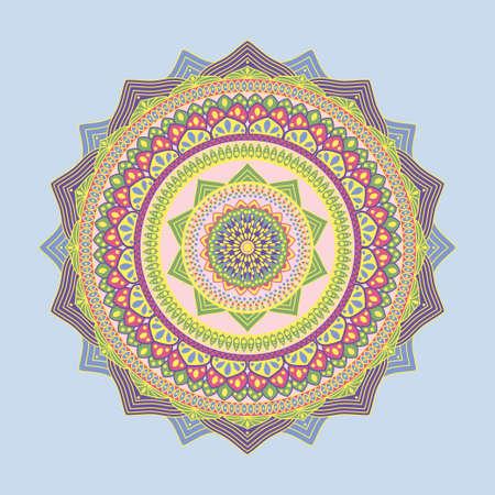 Happy Navratri mandala design background