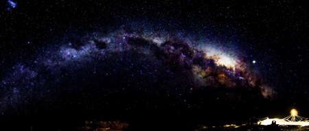 astronomie: Milchstraße in der Antarktis