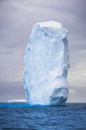 Antarctic iceberg in the snow Stock Photo - 7942225