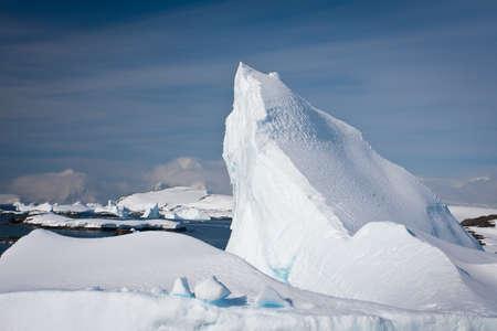 Antarctic iceberg in the snow Stock Photo - 7942401