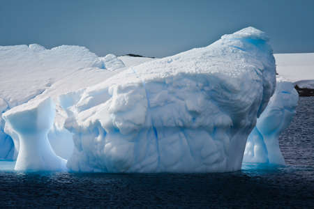 Antarctic iceberg in the snow Stock Photo - 7942285