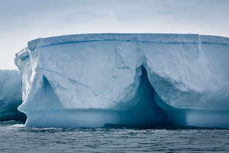 Antarctic iceberg in the snow Stock Photo - 7942273