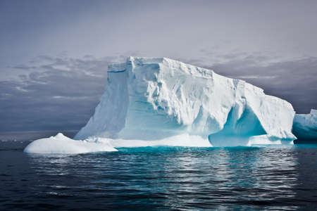 Antarctic iceberg in the snow Stock Photo - 7942278