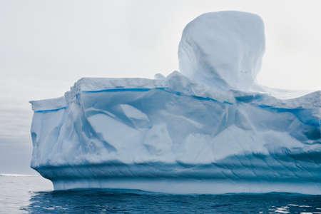 Antarctic iceberg in the snow Stock Photo - 7942238