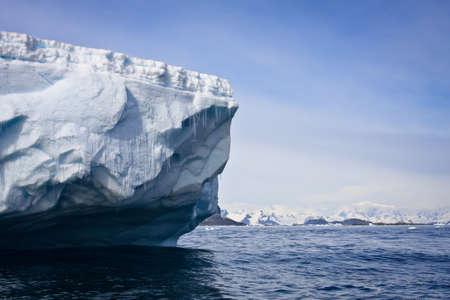 Antarctic iceberg in the snow Stock Photo - 7942284