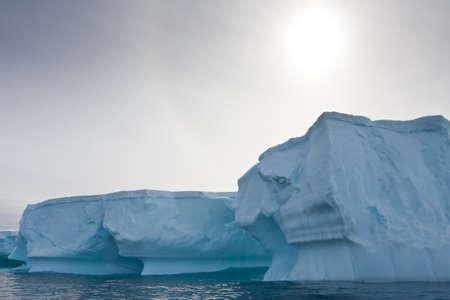 Antarctic iceberg in the snow Stock Photo - 7942407