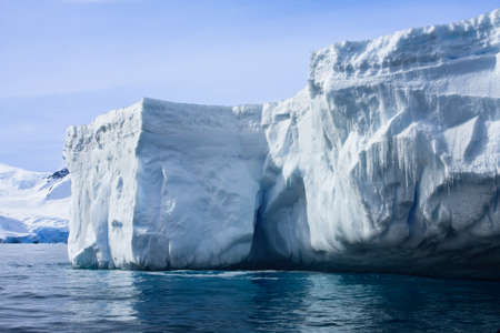 Antarctic iceberg in the snow Stock Photo - 7942415