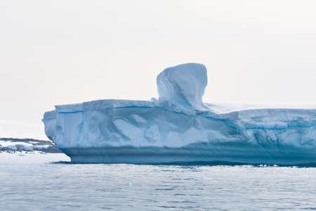 Antarctic iceberg in the snow Stock Photo - 8014281