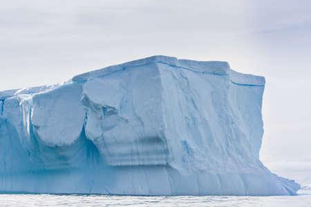 Antarctic iceberg in the snow Stock Photo - 8014283