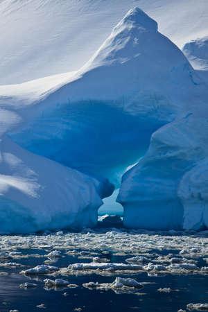 Antarctic iceberg in the snow Stock Photo - 8130498