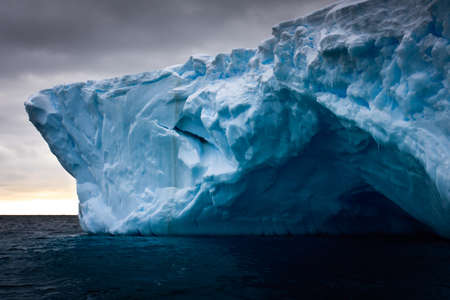 Antarctic iceberg in the snow Stock Photo - 8130665