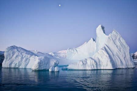 Antarctic iceberg in the snow Stock Photo - 8204337