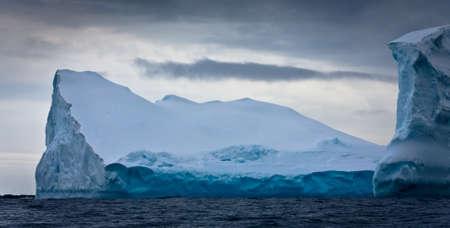 Antarctic iceberg in the snow Stock Photo - 8204351