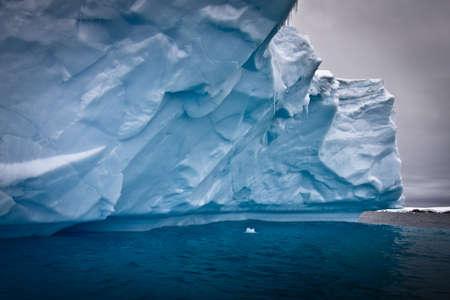 Antarctic iceberg in the snow Stock Photo - 8204362