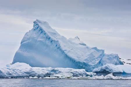 Huge iceberg in Antarctica Stock Photo
