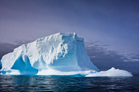 Antarctic iceberg in the snow Stock Photo - 8458225