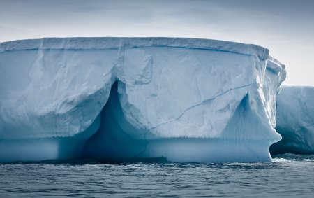 Antarctic iceberg in the snow Stock Photo - 8472204