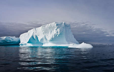 Antarctic iceberg in the snow Stock Photo - 8472200