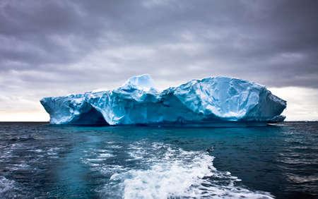 Huge iceberg in Antarctica, beautiful winter background Stock Photo - 8765468