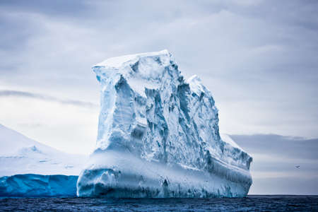 Huge iceberg in Antarctica photo
