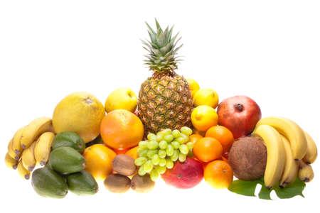exotic fruits: fresh fruits
