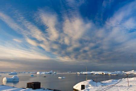Beautiful landscape in  Antarctica photo