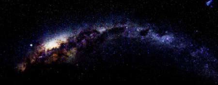 melkachtig: Melkweg in Antarctica op Vernadsky Station Stockfoto
