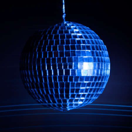 Disco ball light  background Stock Photo