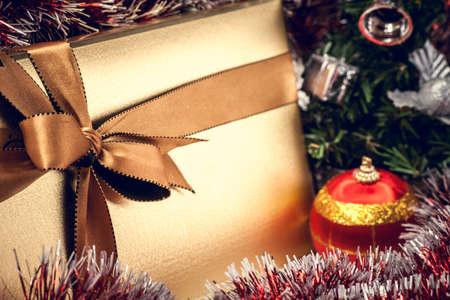 Christmas gift box Stock Photo - 16234508