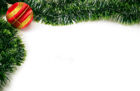Christmas background with space for text Stock Photo
