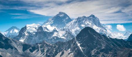 blue ridge mountains: Beautiful snow-capped mountains