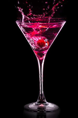 colourful coctail on the black background 版權商用圖片 - 35301041