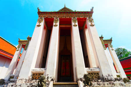 luxurious: luxurious ancient royal palace in Thailand Stock Photo