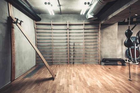 체육관에서 권투에 대한 빈 홀