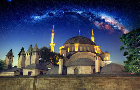 eminonu: New Mosque, Eminonu, Istanbul, Turkey Stock Photo