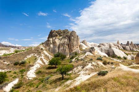 goreme: Spectacular rocks formations near Goreme, Cappadocia, Turkey