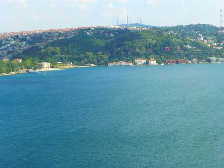 Istanbul bosphorus strait - Turkey photo