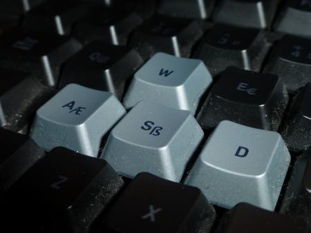 dirty keyboard photo
