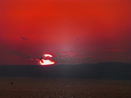filtered: puesta del sol filtrada