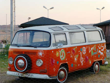 hippie van photo