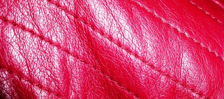 red leather: red leather Stock Photo