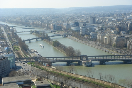 View from Eiffel tower photo