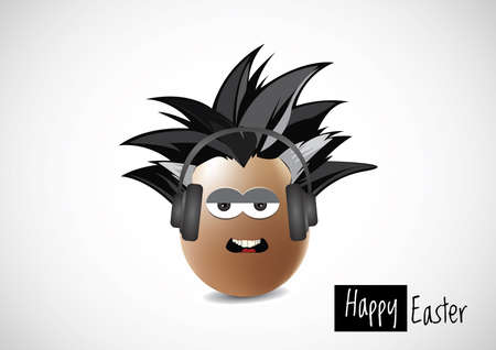 Illustration of easter egg Vector