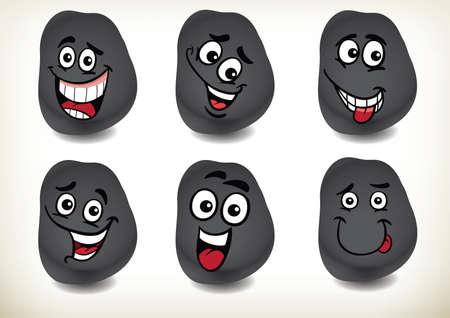 smilies: A set of 6 smilies.